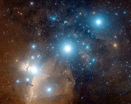 foto Orione, il grande cacciatore: aspetti della Via Lattea invernale