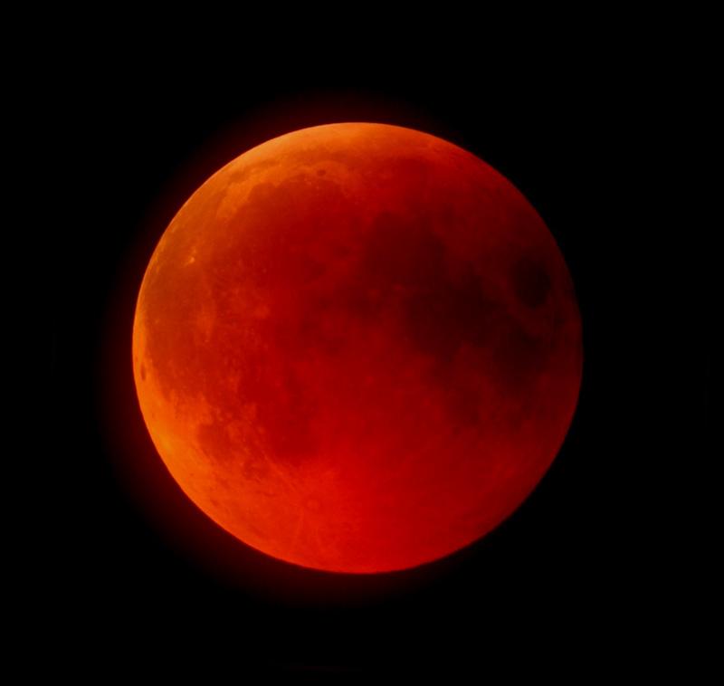 foto Eclisse totale di Luna