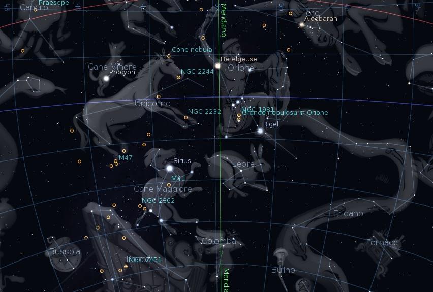 foto Orione e le meraviglie del cielo invernale