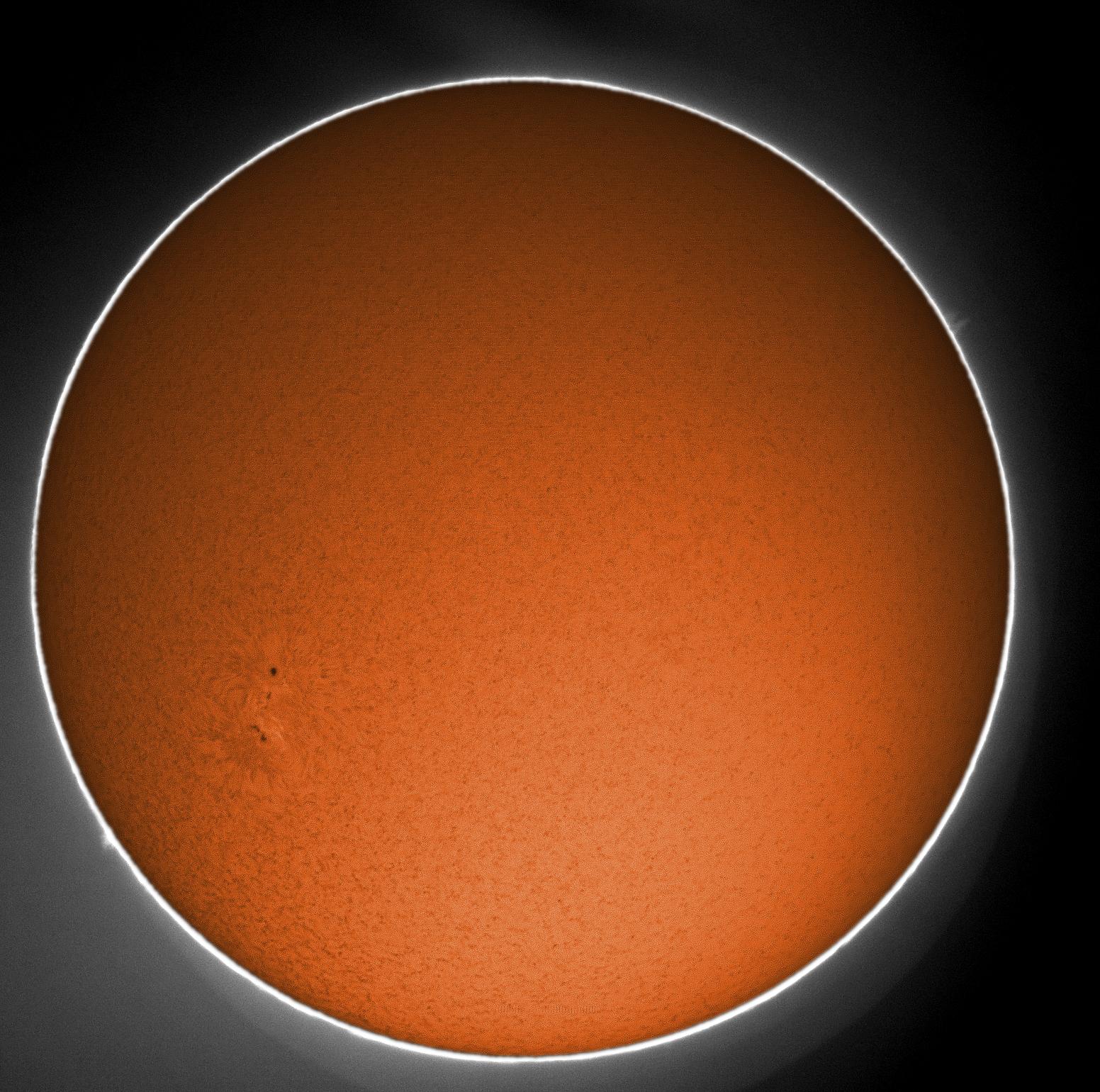 foto Sole in H-alfa