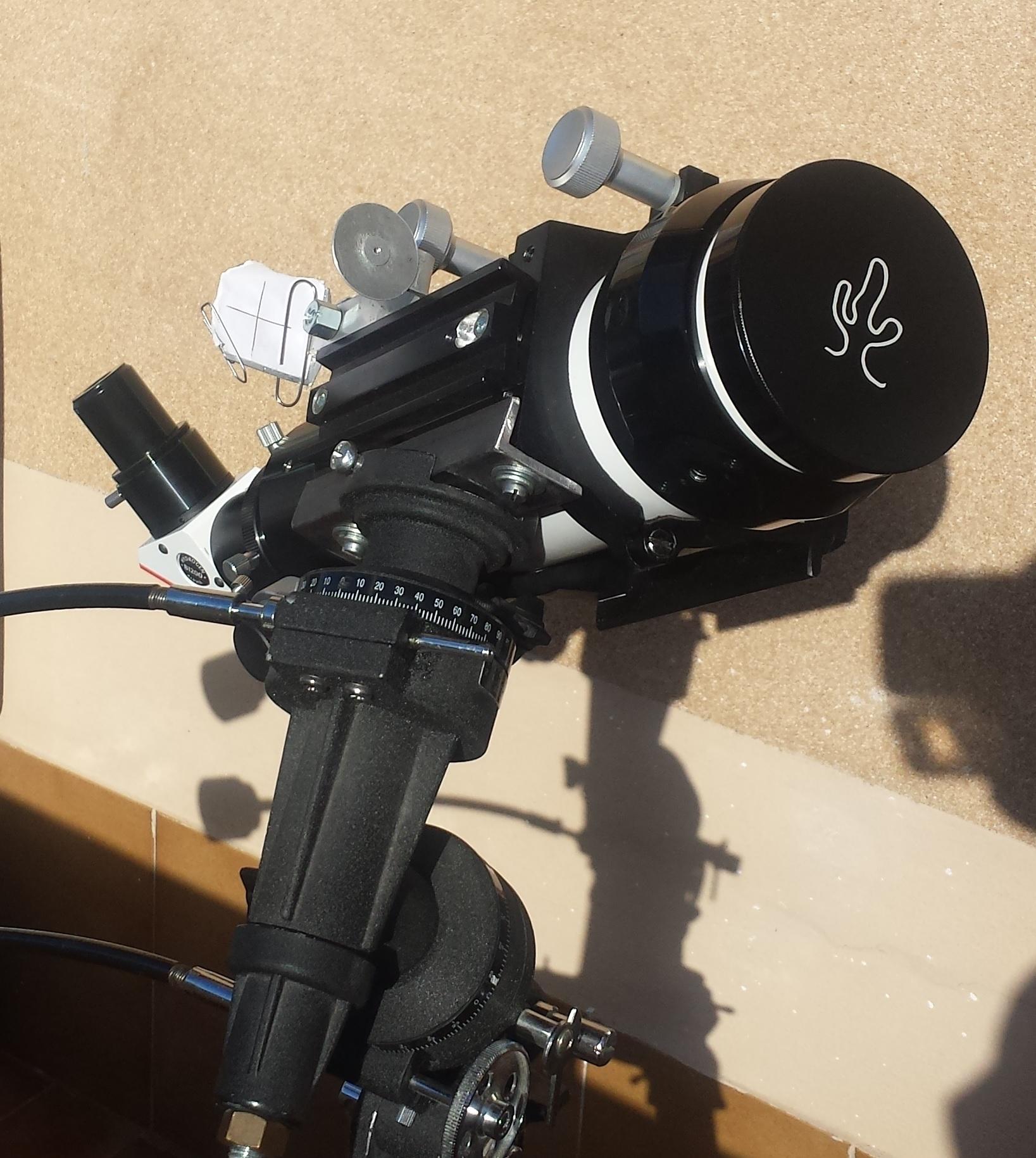 foto Telescopio solare Lunt