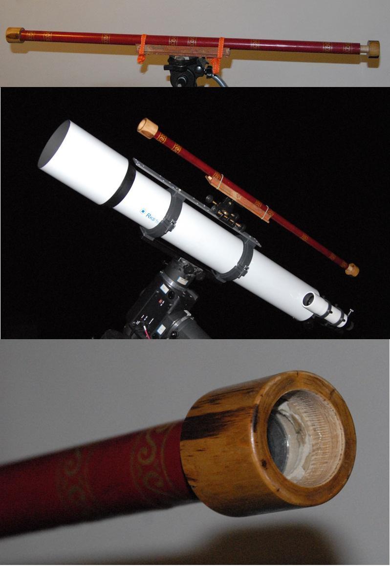 foto Riproduzione telescopio di Galileo