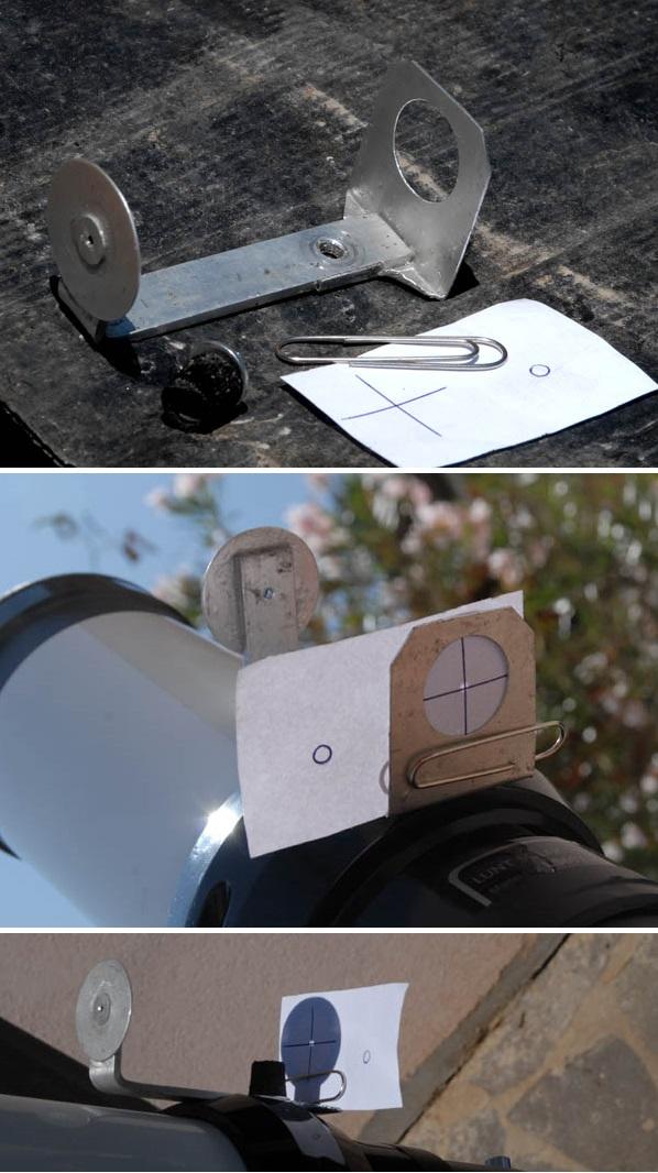 foto Cercatore solare  autocostruito