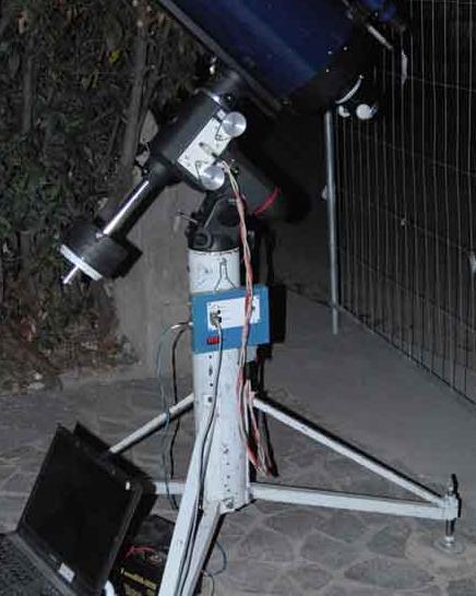 foto Montatura equatoriale Skywatcher EQ6  modilficata